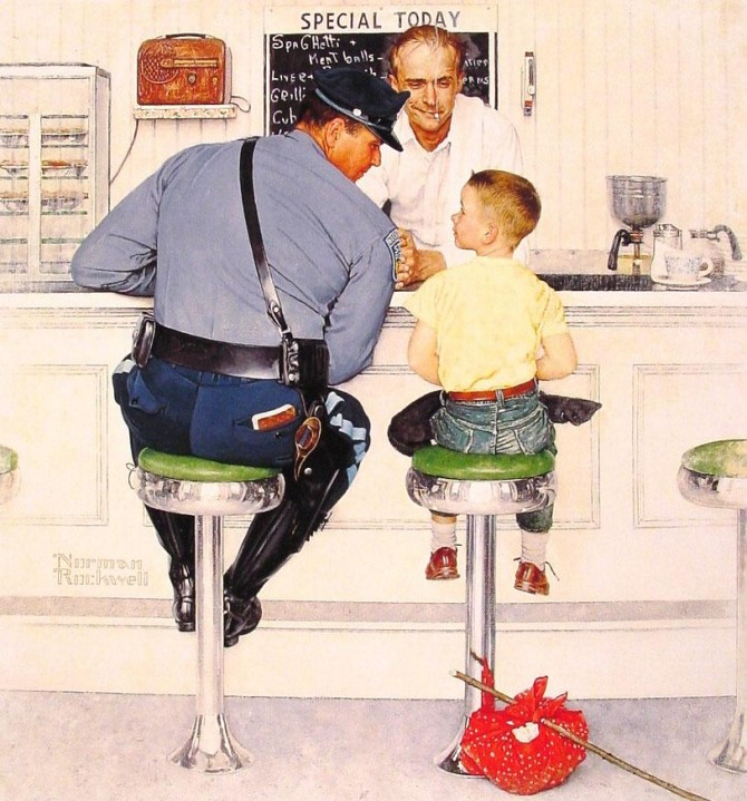 "NORMAN ROCKWELL: THE AMERICAN ""GOLDEN AGE"" IN ROME"