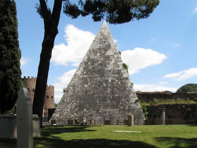WHY A PYRAMID IN ROME?