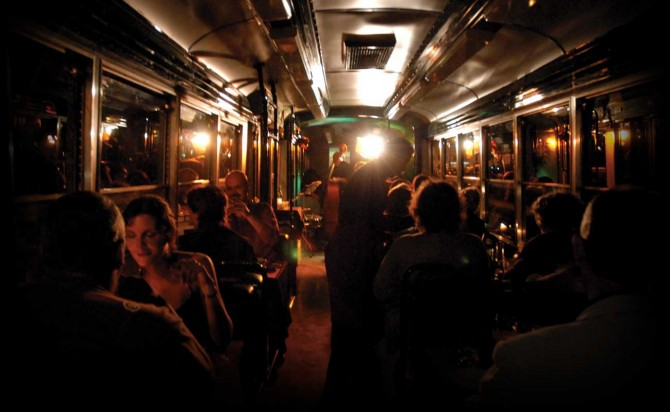 TRAMJAZZ: AN ENCHANTIG DINNER IN THE HEART OF ROME