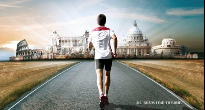 ALL ROADS LEAD TO ROME: ROME MARATHON 2015