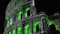 ROME WEARS GREEN FOR ST. PATRICK!