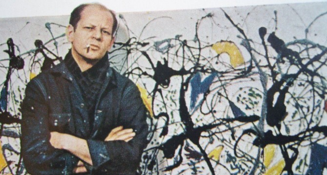 Jackson Pollock and the school of  New York